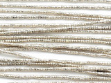 Tiny Silver Metal Beads 1-2mm - Ethiopia (ME180)