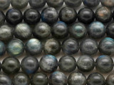 Labradorite Faceted Round Gemstone Beads 10mm (GS2002)