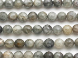 Labradorite Faceted Round Gemstone Beads 8mm (GS2006)