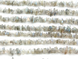 "Labradorite Chip Gemstone Beads - 34"" strand (GS2040)"