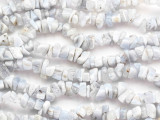 "Blue Lace Agate Chip Gemstone Beads - 36"" strand (GS2042)"