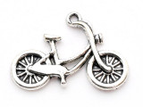 Bicycle - Pewter Pendant (PW1068)
