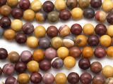 Moukaite Round Gemstone Beads 10mm (GS2190)