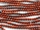 Red Jasper Round Gemstone Beads 6mm (GS2192)