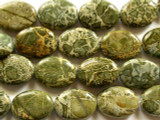 Alligator Skin Jasper Oval Tabular 20mm (GS2164)