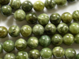 Green Agate Round Gemstone Beads 12mm (GS2216)