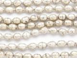 Silver Metal Prayer Beads - Ethiopia (ME5613)