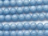 Angelite Round Gemstone Beads 8mm (GS2296)
