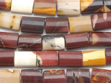 Moukaite Rectangular Tabular Gemstone Beads 18mm (GS2303)