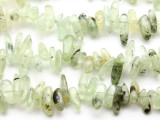 Prehnite Stick Gemstone Beads 23mm (GS2315)