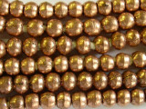 Copper Irregular Round Beads 8mm - Ethiopia (ME243)