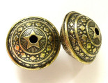 Large Brass Ornate Bead 28mm (MB20)