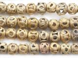 Brass Round Beads 11-14mm - Ghana (ME262)