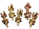 Brass Lizard Pendant 36-44mm - Ghana (ME324)