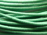 Light Green Vinyl Disc Beads 2-3mm (VY12)