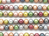 Assorted Potato Pearl Beads 8mm (PRL68)