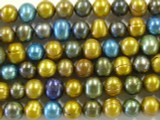 Assorted Potato Pearl Beads 9mm (PRL70)