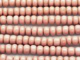 Pink Cheyenne Trade Beads 7-8mm (AT63)