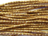 Copper Cylinder Beads 3mm - Ethiopia (ME73)