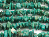 "Russian Amazonite Chip Gemstone Beads - 36"" strand (GS2575)"