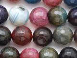 Jeweltone Quartz Faceted Round Gemstone Beads 12mm (GS2528)