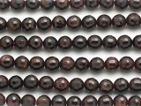 Garnet Faceted Round Gemstone Beads 6-7mm (GS2503)