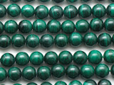 Malachite Round Gemstone Beads 6mm (GS236)