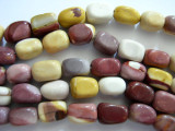 Moukaite Rounded Block Gemstone Beads 12mm (GS449)