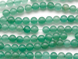 Green Aventurine Round Gemstone Beads 6mm (GS243)