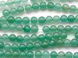 Green Aventurine Round Gemstone Beads 6mm (GS243)