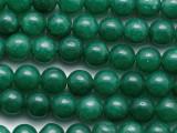 Dark Green Aventurine Round Gemstone Beads 8mm (GS233)