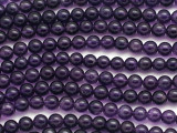 Amethyst Round Gemstone Beads 6mm (GS315)