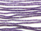 Amethyst Round Gemstone Beads 4mm (GS262)