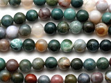 Fancy Jasper Round Gemstone Beads 8mm (GS389)