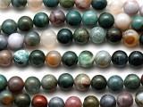 Fancy Jasper Round Gemstone Beads 8mm (GS389)