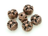 Flower Copper Bead 7mm (CP29)