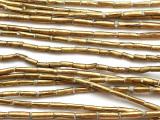 Brass Tube Beads 8-10mm (ME5610)