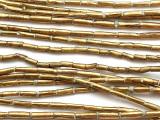 Brass Tube Beads 8-10mm (ME5610)