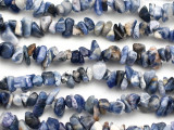 "Sodalite Chip Gemstone Beads - 34"" strand (GS504)"