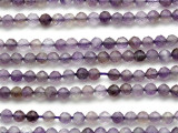 Amethyst Faceted Round Gemstone Beads 4mm (GS625)