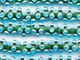 Transparent Green Javanese Warring States Beads 18mm (JV122)