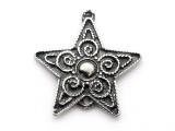 Balinese Star - Pewter Pendant (PW19)