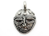 African Mask - Pewter Pendant (PW26)