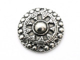 Balinese Shield - Pewter Pendant (PW49)