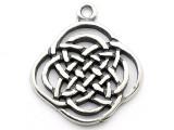 Celtic Knotwork - Pewter Pendant (PW63)