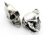 Skull - Pewter Pendant 25mm (PW83)
