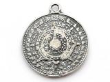 Aztec Calendar - Pewter Pendant (PW90)