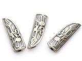 Eagle Soaring - Northwest Totem - Pewter Bead/Talisman (PWT14)
