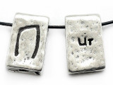 "Runestone Astrology Pewter Pendant - ""Ur"" - July (PWR2)"