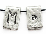 "Runestone Astrology Pewter Pendant - ""Eh"" - March/April (PWR19)"
